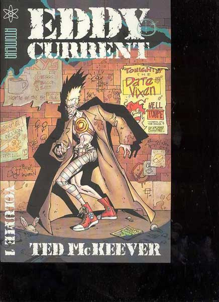 Image: Ted McKeever's Eddy Current Vol. 1 SC  - Atomeka