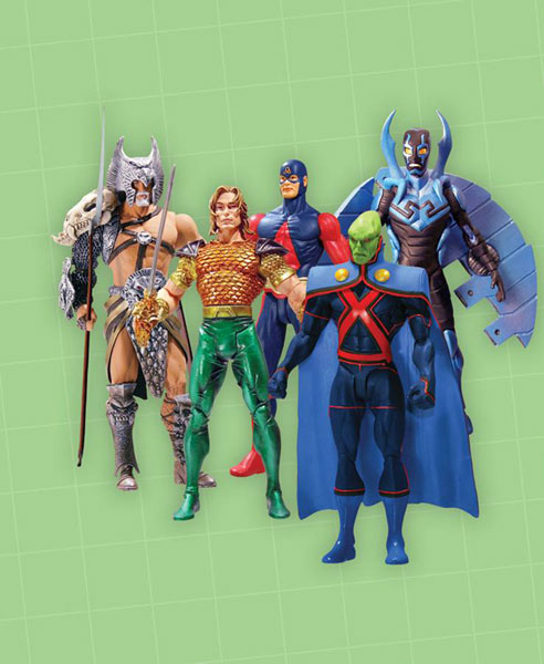 Image: DC First Appearance Series 4 Action Figure Set  (6) -