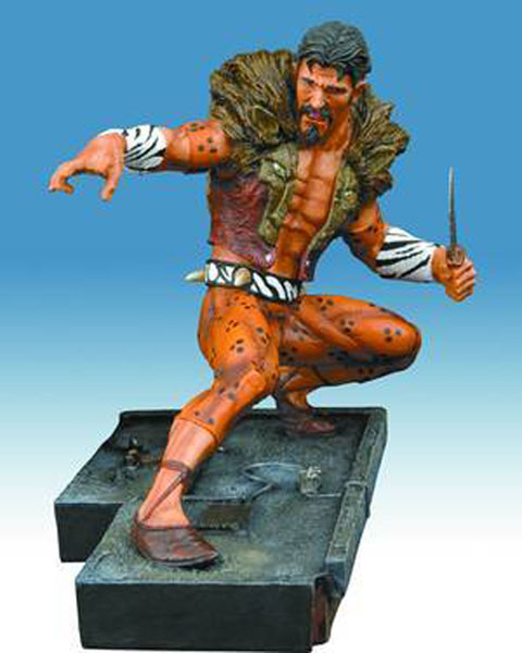 Image: Spider-Man Sinister 6 Medium Statue: Kraven  - Marvel Comics