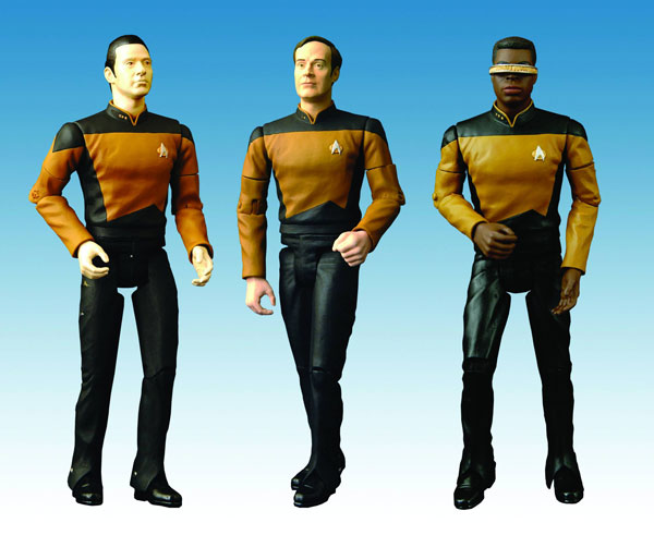 Image: Star Trek: TNG: Laforge & Data AF Assortment  (8 pcs.) -