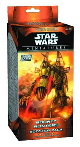 Image: Star Wars Miniatures Bounty Hunters Booster Pack  -