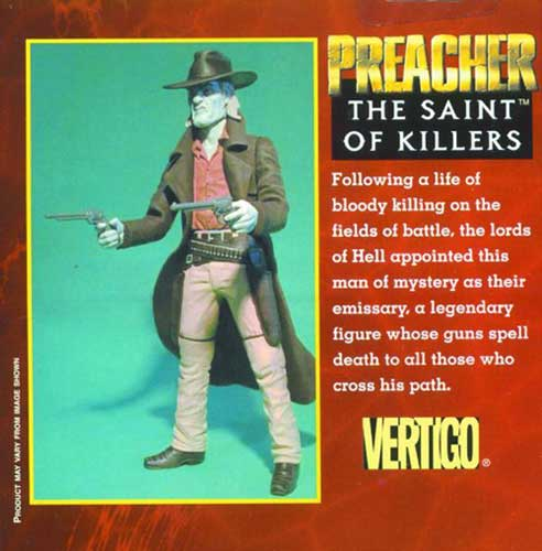 Image: Preacher: Saint Of Killers Action Figure  -