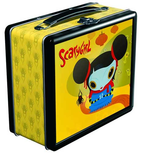 Image: Scary Girl Lunch Box  -