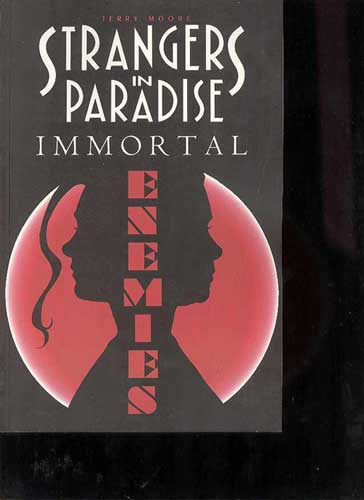 Image: Strangers in Paradise Vol. 05: Immortal Enemies SC  - Abstract Studios