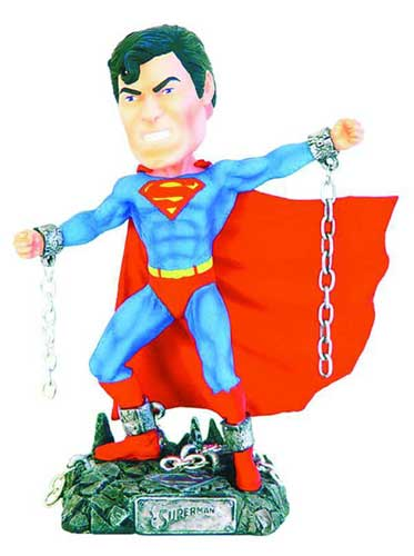 Image: Headstrong Heroes Bobbing Head: Superman  -
