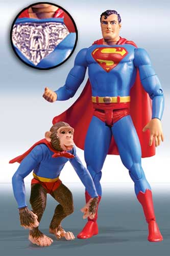 Image: Silver Age Superman Series 1 Action Figure: Superman Robot  -