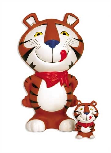Image: Kellogg's Vinyl Figure: Tony the Tiger  -