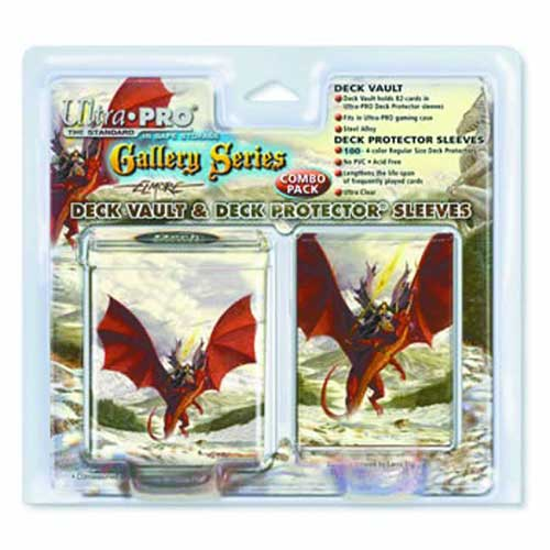 Image: Ultra Pro Larry Elmore Deck Protector Display: Mammoth Rider  -