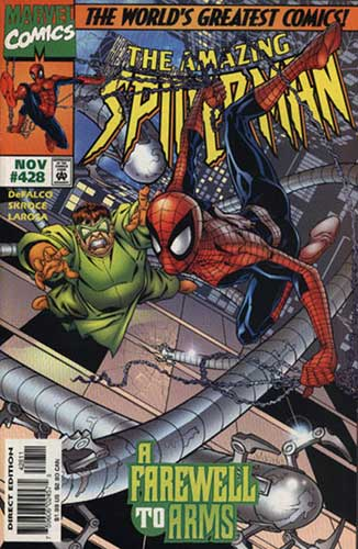 Image: Amazing Spider-Man #428 - Marvel Comics