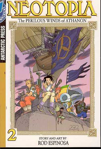 Image: Neotopia Pocket Manga Vol. 2 SC  - Antarctic Press