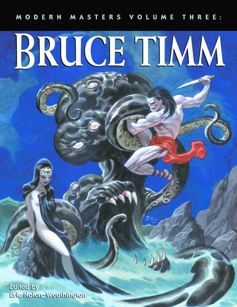 Image: Modern Masters Vol. 03: Bruce Timm SC  - Twomorrows Publishing