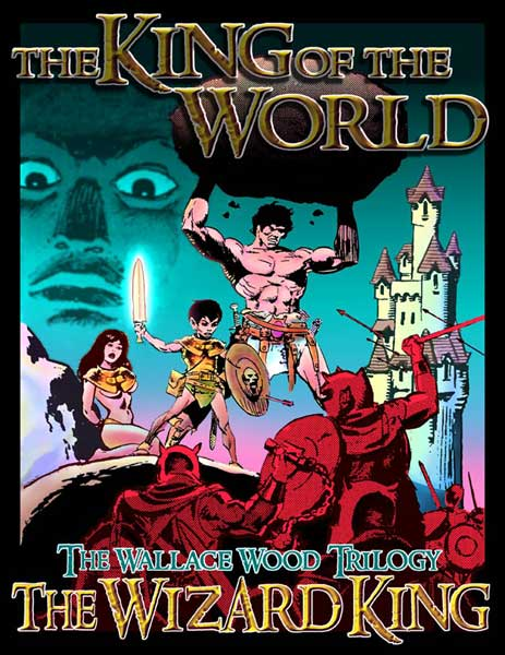 Image: Wizard King Trilogy Book 1: King of the World HC  - Vanguard