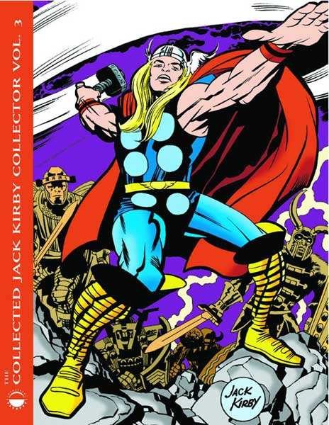 Image: Collected Jack Kirby Collector Vol. 03 SC  - Twomorrows Publishing