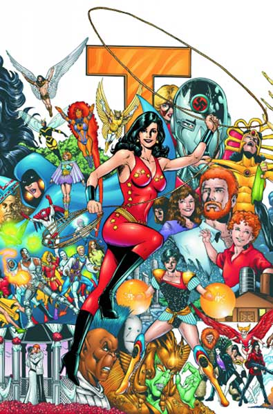 Image: New Teen Titans: Who is Donna Troy? SC  - DC Comics