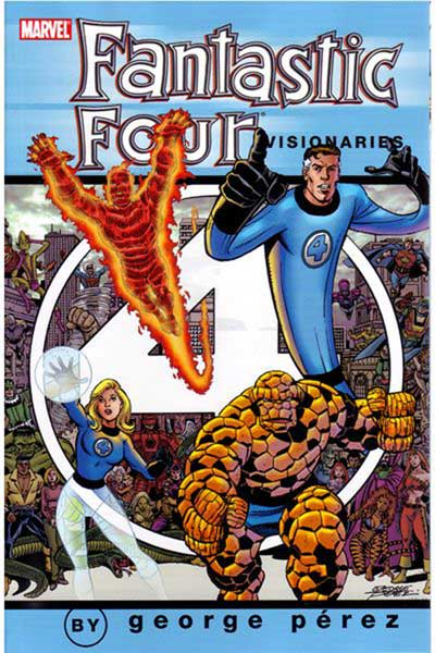 Image: Fantastic Four Visionaries: George Perez Vol. 01 SC  - Marvel Comics