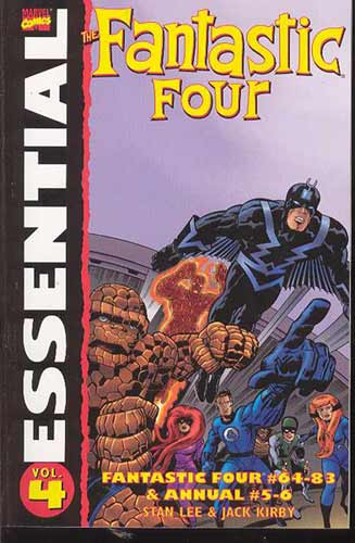 Image: Essential Fantastic Four Vol. 04 SC  - Marvel Comics