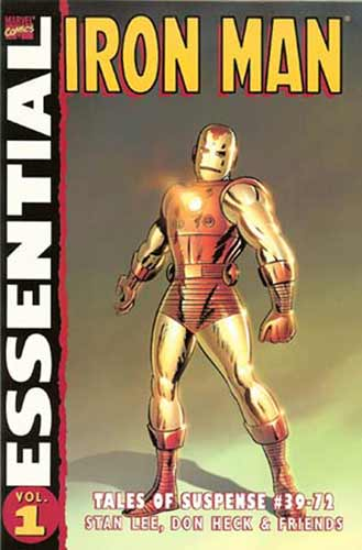 Image: Essential Iron Man Vol. 01 SC  - Marvel Comics