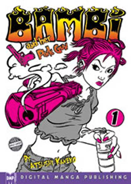 Image: Bambi & Her Pink Gun Vol. 1 SC  - Digital Manga Distribution