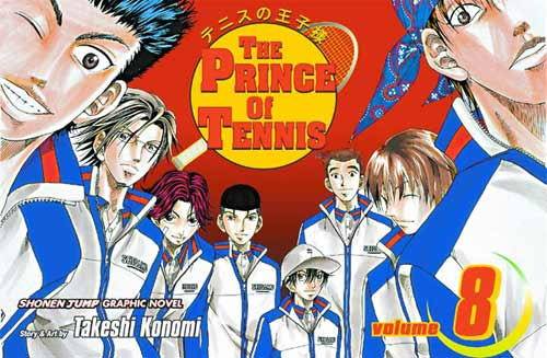 Image: Prince of Tennis Vol. 08 SC  - Viz Media LLC