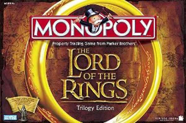 Image: Lord of the Rings Monopoly Reissue  -