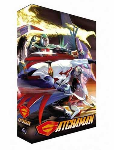 Image: Gatchaman Collection 1 Box Set DVD  -