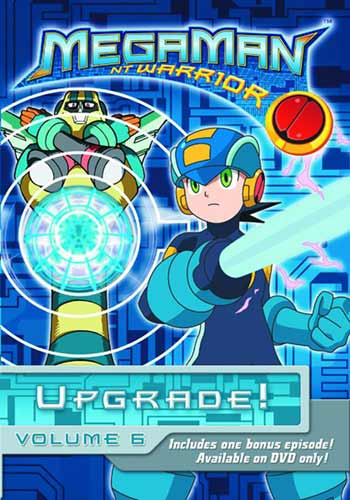 Image: Megaman NT Warrior Vol. 6 DVD  -