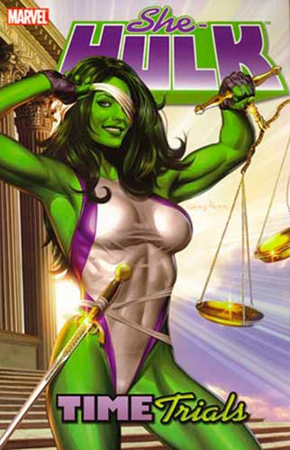 Image: She-Hulk Vol. 03: Time Trials SC  - Marvel Comics
