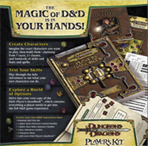 Image: Dungeons & Dragons Players Kit  -