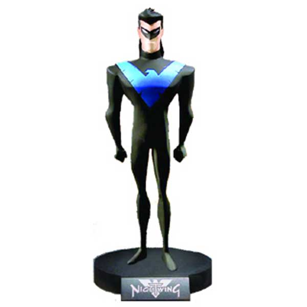 Image: Classic Animation Maquette: Nightwing  (New Batman Adventures) -