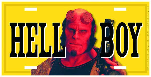 Image: DH License Plate: Hellboy  - Dark Horse Comics