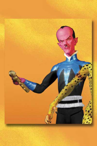 Image: Justice League  (Alex Ross) Series 1 Action Figure: Sinestro -