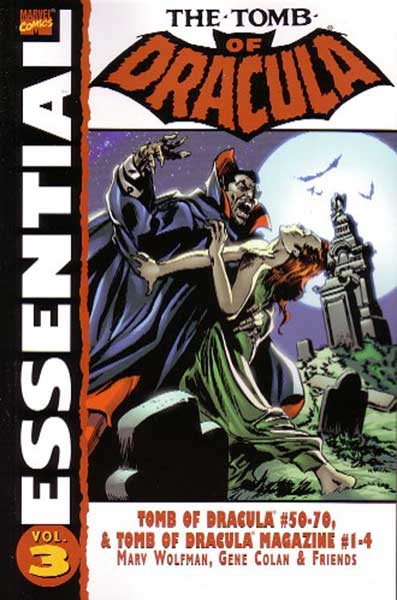 Image: Essential Tomb of Dracula Vol. 03 SC  - Marvel Comics