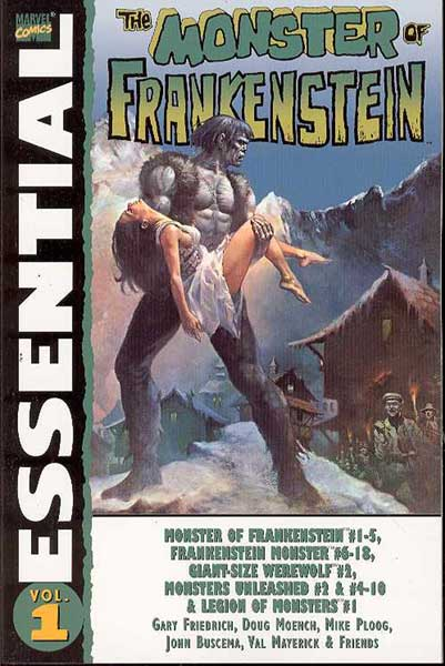 Image: Essential Monster of Frankenstein Vol. 01 SC  - Marvel Comics