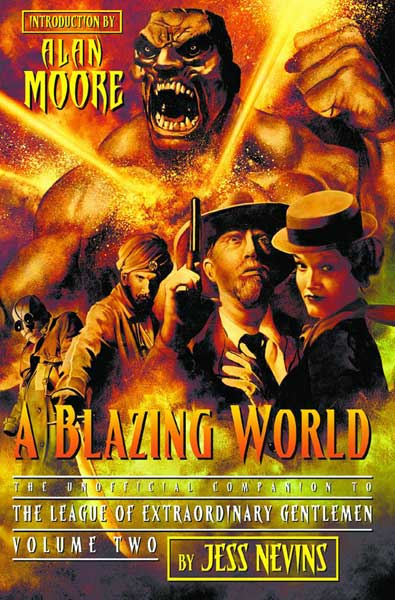 Image: Blazing World: 2nd League of Extraodinary Gentlemen Unofficial Companion SC  -