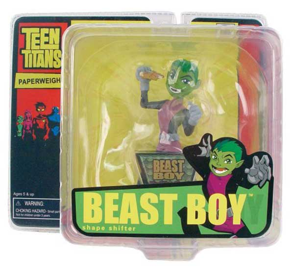 Image: Teen Titans Mini-Paperweight: Beast Boy  -