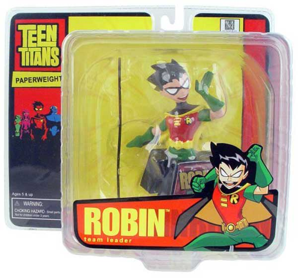 Image: Teen Titans Mini-Paperweight: Robin  -