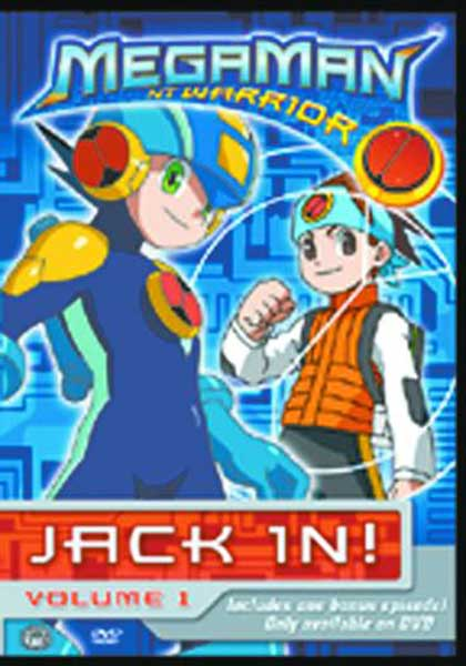 Image: Megaman NT Warrior Vol. 2: Log On DVD  -