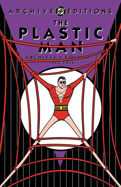 Image: Plastic Man Archives Vol. 07 HC  - DC Comics
