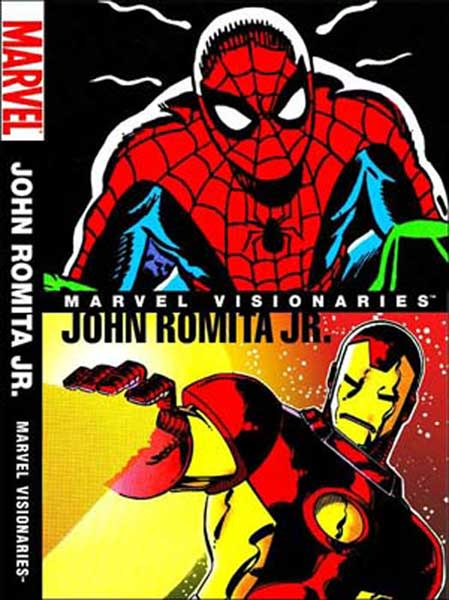 Image: Marvel Visionaries: John Romita Jr. HC  - Marvel Comics