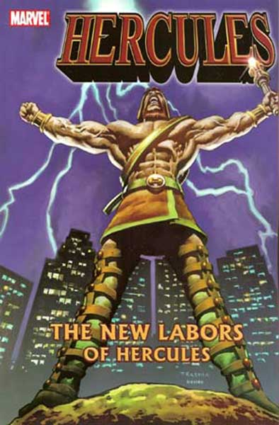 Image: Hercules: New Labors of Hercules SC  - Marvel Comics