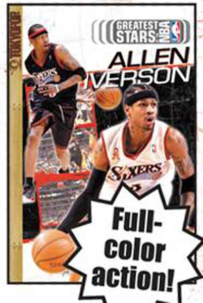 Image: Greatest Stars of the NBA Cine-Manga Vol. 05: Allen Iverson SC  - Tokyopop Cine-Manga
