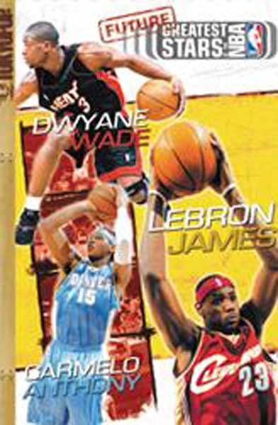 Image: Greatest Stars of the NBA Cine-Manga Vol. 06: Future Greats SC  - Tokyopop Cine-Manga