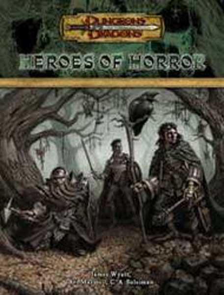 Image: Dungeons & Dragons: Heroes of Horror HC  -
