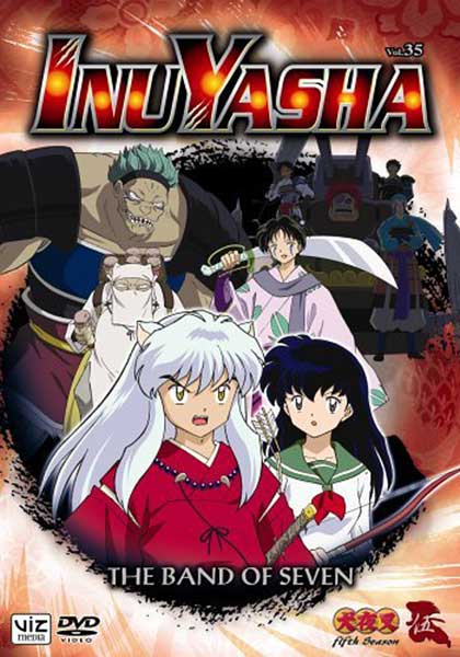 Image: Inuyasha Vol. 35: The Band of Seven DVD  -
