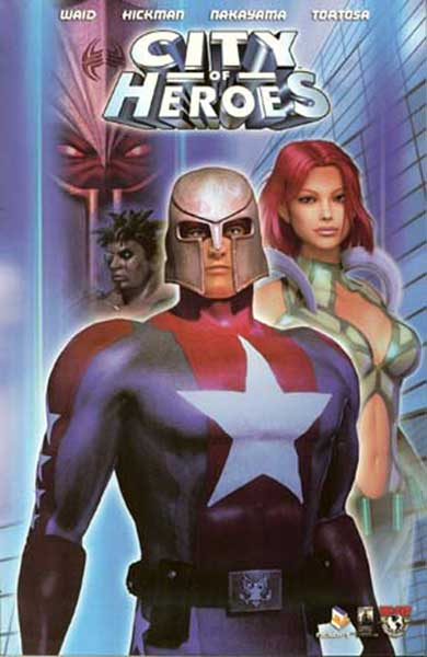 Image: City of Heroes Vol. 01 SC  - Image Comics