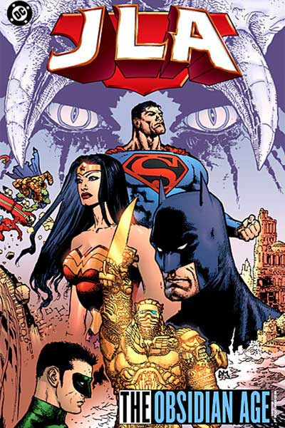 Image: JLA Vol. 11: Obsidian Age Book One SC  - DC Comics