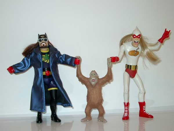 Image: Bluntman & Chronic Action Figures Set  (2) -
