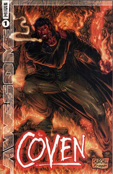 Image: Coven Vol. 02 #1 (scratch cover) - Awesome/Hyperwerks