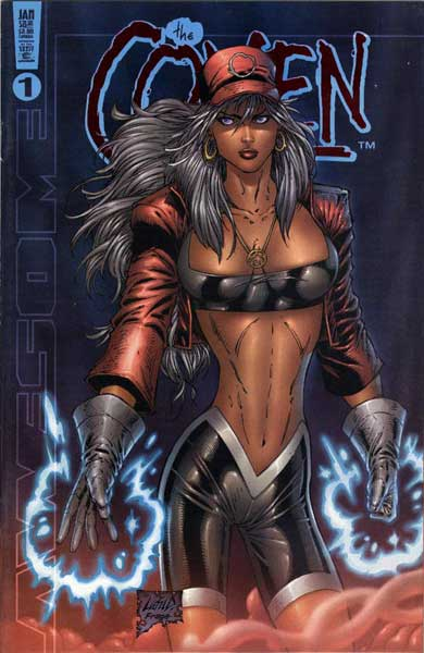 Image: Coven Vol. 02 #1 (Spellcaster foil cover) - Awesome/Hyperwerks