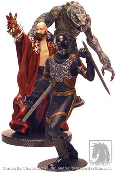 Image: Hellboy Movie PVC Set 2: Bad Guys  - Dark Horse Comics